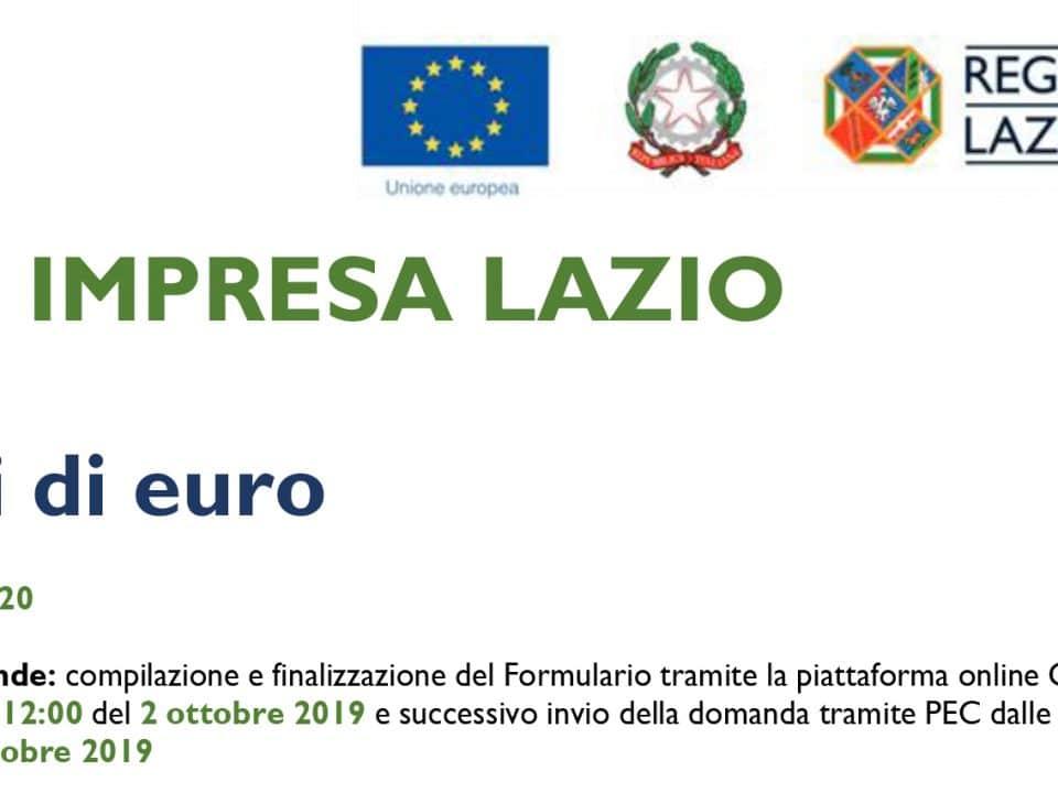Digital Impresa Lazio: Valido fino al 1 Ottobre 2019 Bando digital impresa lazio 960x720