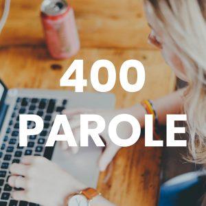 Creazione Articolo di 400 parole Testi Articolo 400 Parole 300x300