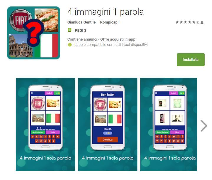 4 Immagini 1 Parola 4 immagini 1 parola App Android su Google Play