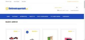 Elettronica per tutti Elettronica per tutti Il tuo E commerce di fiducia Gianluca Gentile 01 300x140
