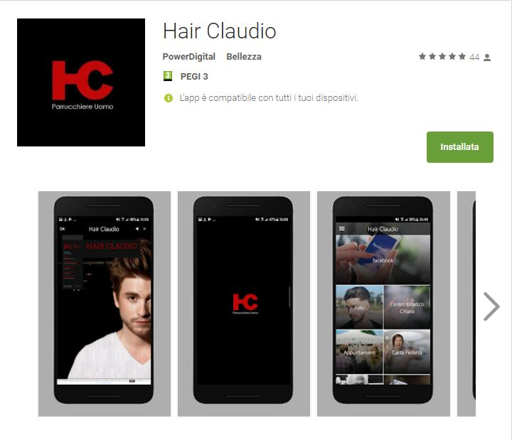 App Hair Claudio Hair Claudio App Android su Google Play