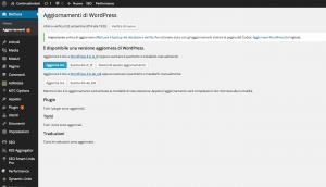 aggiornare wordpress aggiornare wordpress Aggiornare WordPress: come installare l'ultima versione disponibile aggiornare wordpress 2 300x172