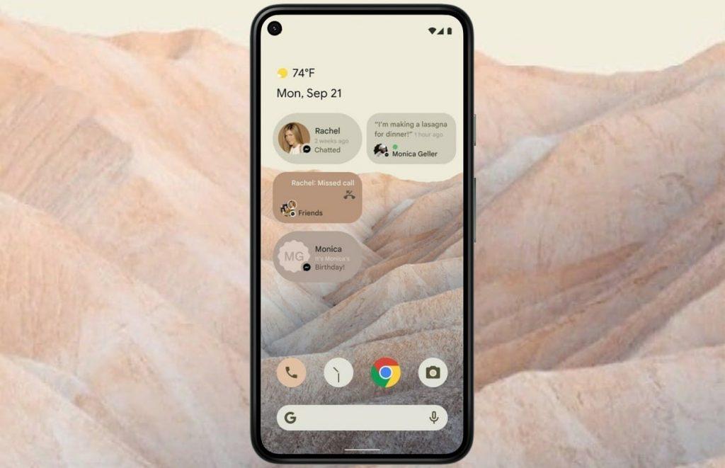 aggiornamento android 12