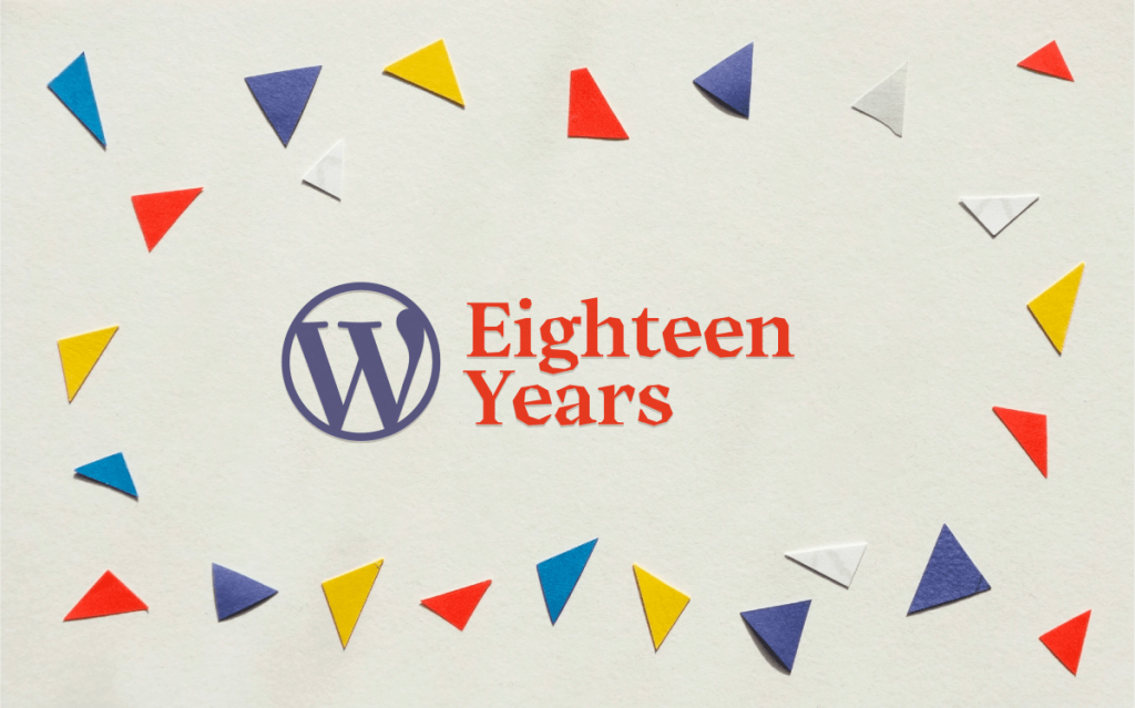 Notizie - WordPress at 18 - WordPress.org